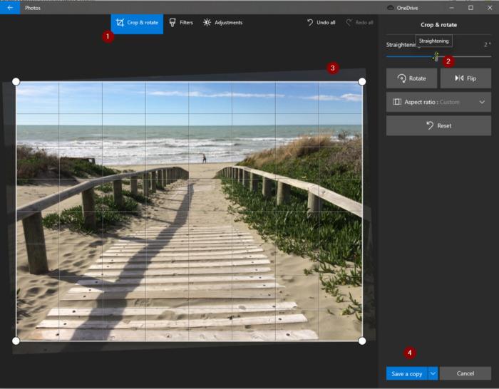 Windows Photo UI explained