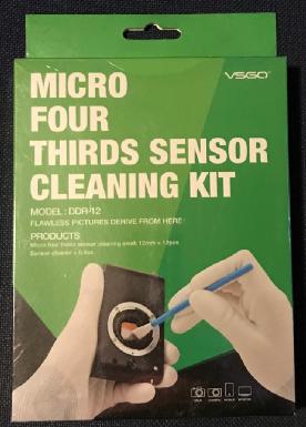 My unused cleaning kit