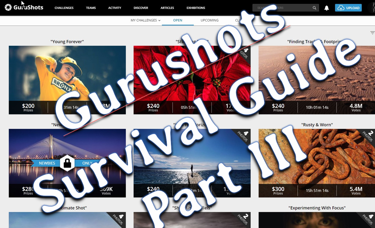 You are currently viewing GuruShots Survival Guide (PartIII)